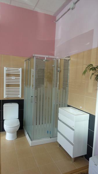 Plato ducha madera madrid suelos imitaci n madera madrid - Exposicion banos madrid ...